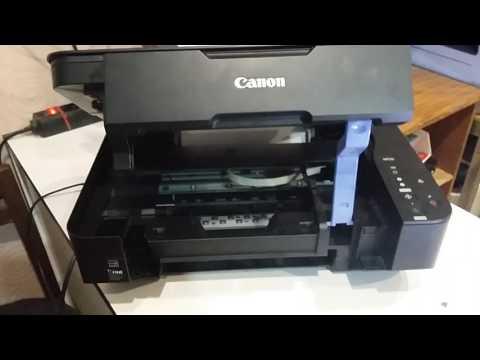 Canon MP230 Принтер не печатает или печатает с полосами Самостоятельное обслуживание и ремонт