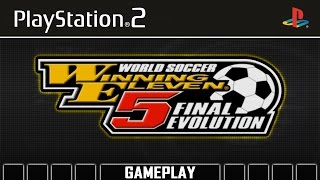 World Soccer Winning Eleven 5 Final Evolution [PS2] Gameplay