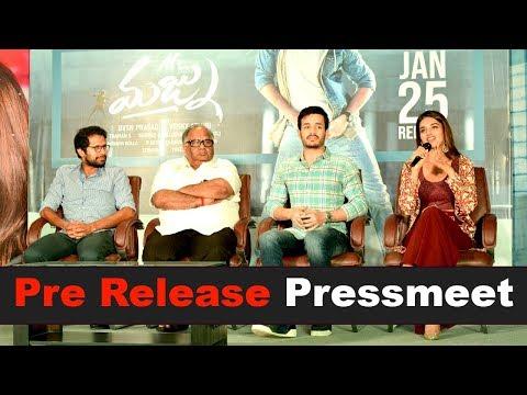 Mr. Majnu Team Pre Release Press Meet