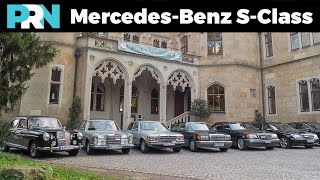 The History of the Mercedes-Benz S-Class from 1951 to 2005