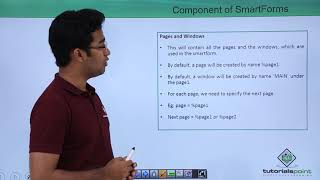 SAP ABAP - Component of SmartForms