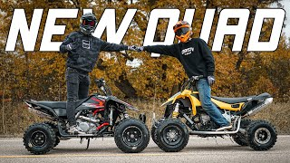BUYING BEST FRIEND A NEW QUAD!!