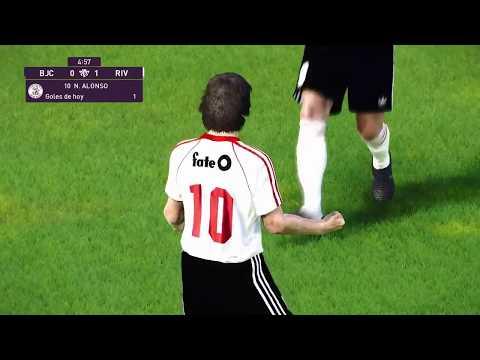 El histórico gol del Beto Alonso, recreado en el PES 2020