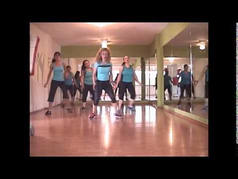Fitness coreografia candy man Christina Aguilera