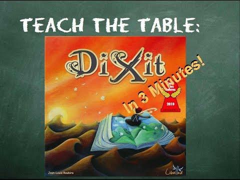 How to play Dixit - Teach The Table