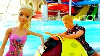 Куклы Барби - учимся плавать. Видео для девочек.