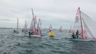 29er Worlds: USA's Marcellini/Brill and Martin/Saponara qualify for Gold Fleet in top ten