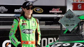 Danica Patrick First Woman to Win Pole at Daytona 500 | NASCAR 2013