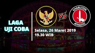 Live Streaming TVRI Garuda Select vs Charlton Athletic, Selasa 19.30 WIB