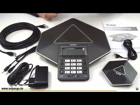 Yealink CP860 IP Konferenztelefon Review / Unboxing | voipango.de