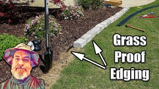 Easy Garden Bed Edging