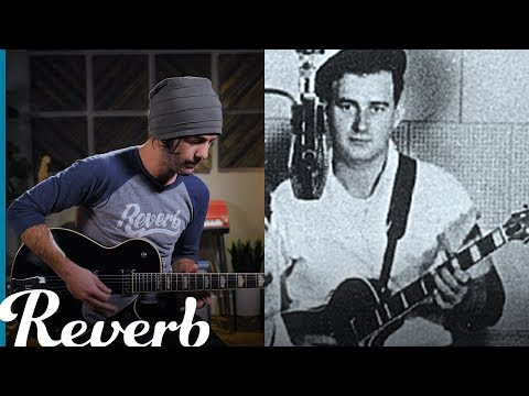 """Cliff Gallup's Rockabilly Guitar Solo in Gene Vincent's """"Race with the Devil"""" 