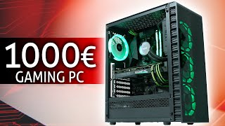 1000 Euro GAMING PC - RTX 3070 KILLER PC! feat. GIGABYTE