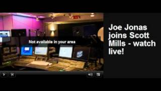 Joe Jonas - The Headline Song on Radio 1