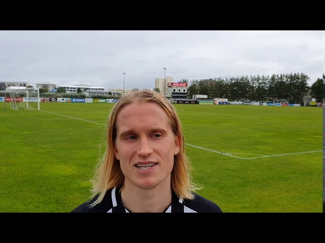 Atli Sigurjóns: Leyfi Kidda og Skara að búa til færin og skora úr þeim sjálfur