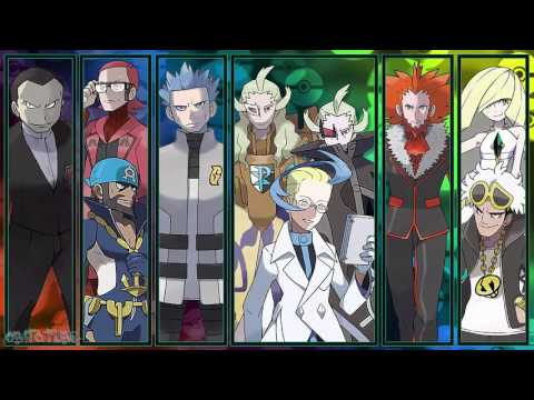 All Pokémon Villainous Team Boss Themes [GEN 1-7]