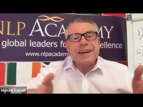 NLP Master Class with Michael Carroll - Modelling a Master Hypnotist