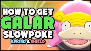 Slowking  - (Pokémon) - How To Get/Eventually Evolve GALARIAN SLOWPOKE in Pokemon Sword and Shield