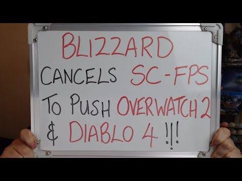 BLIZZARD Cancel STARCRAFT FPS to focus on DIABLO 4 & OVERWATCH 2!!