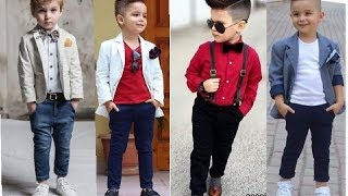 Latest Fashion Trends For Kids 2018 - Little Boys Special // Cute Kids Outfits/Styles
