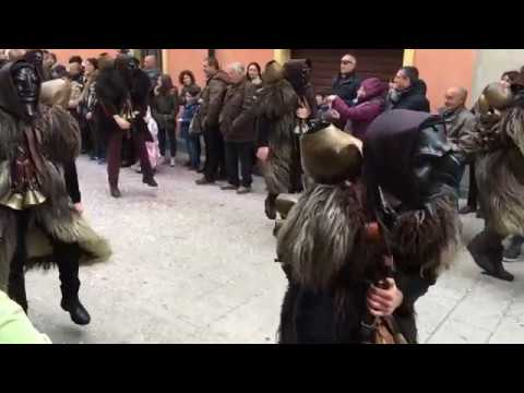 Karneval in Mamoiada mit Mamuthones und Issohadores