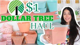 JACKPOT DOLLAR TREE HAUL┃ AMAZING ORGANIZATION BINS┃ $1 CRAFTS