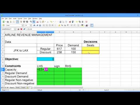 8 2 Airline Revenue Management: An Introduction to Linear