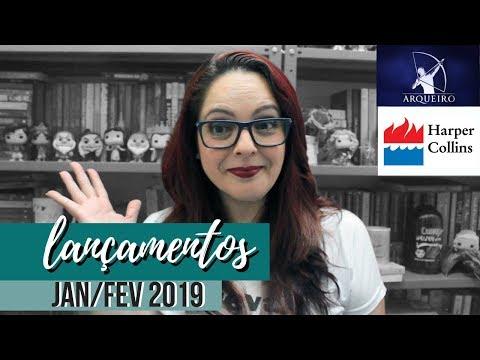 Lançamentos Harper e Arqueiro - Jan e Fev 2019  | Dicas da Sissi