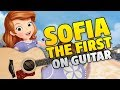 Sofia the First - Theme Song (Fingerstyle Guitar Cover, Tabs)