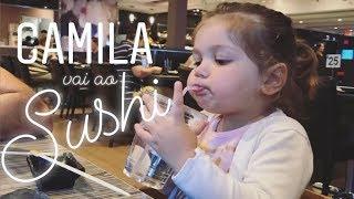 Camila vai ao sushi