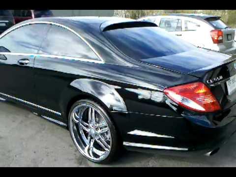 "Mercedes benze cl 500 on 22"" asanti wheels"