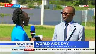 Kenya marks World AIDS Day as HIV prevalence stands at 5.9%