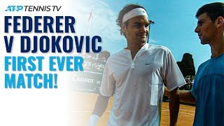 Federer vs Djokovic: The Beginning of the Rivalry!
