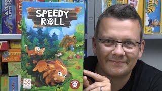Speedy Roll (Piatnik) - Spielerklärung - ab 4 Jahre - Kinderspiel des Jahres 2020