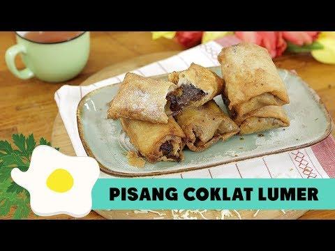 Resep Pisang Cokelat Lumer
