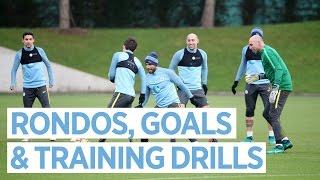 MAN CITY TRAINING | Everton Preparations Begin ⚽