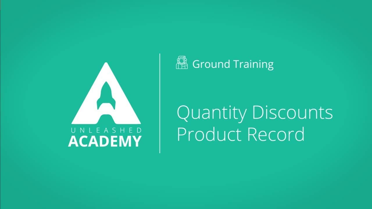 Quantity Discounts YouTube thumbnail image