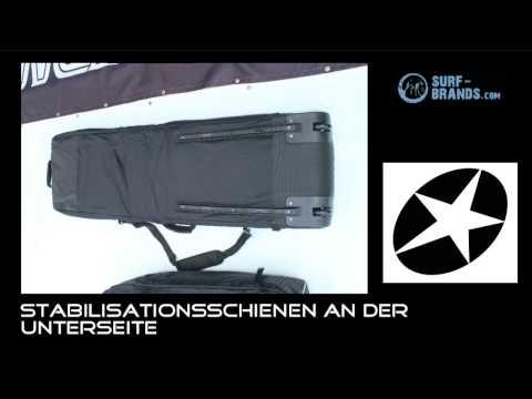 Clever! Trennbare Boardbag Tasche für Kiteboard und Kite Concept X Transformer