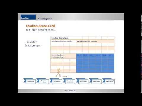 Leadion Praxisprogramm - Begleitete Führung