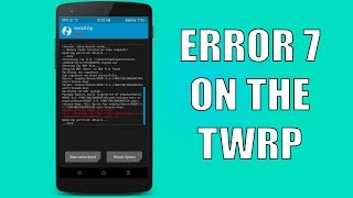 Solved] Error Number 7 and 255 when Try To Install Custom