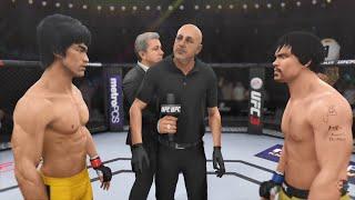 Bruce Lee Vs Manny Pacquiao UNBELIEVABLE FIGHT!!! | EA Sports UFC 3