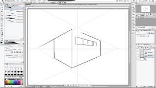 "Manga Studio ""perspective rulers"""