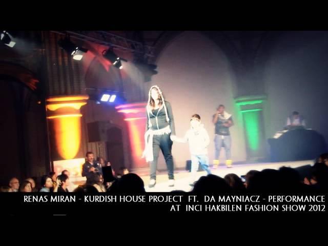 Renas Miran - at Inci Hakbilen Fashion Show (Ft. Louis Moreaux) Kurdish House Project