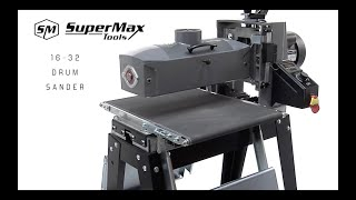 Supermax Tools 16 32 Drum Sander