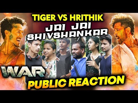 Jai Jai Shivshankar PUBLIC REACTION   Tiger Vs Hrithik   WAR