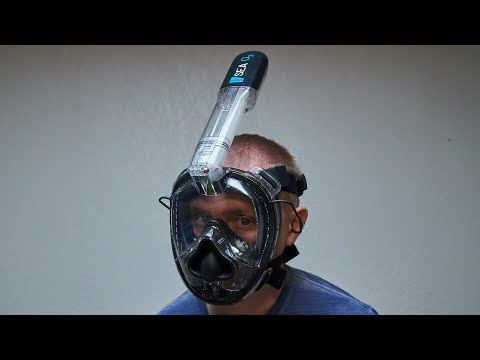 Deep Sea O2 Full Face Snorkel Mask Review