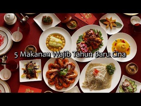5 Makanan Wajib Tahun Baru Cina!