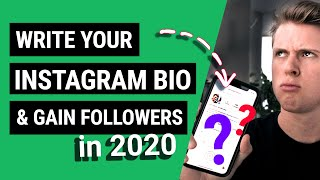 How To Write The Perfect Instagram Bio (GAIN M.O.R.E FOLLOWERS IN 2020)