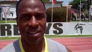 Willie Gault - Masters 100 - Mt. SAC Relays