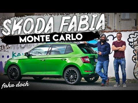 SKODA FABIA 1.0 L TSI Monte Carlo | Ein echter Rallye-Zwerg? Review und Fahrbericht | Fahr doch